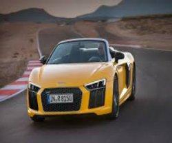 �������� Audi R8 �� ������� � ���